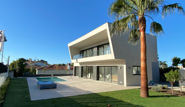 Villa sur un terrain de 841 m2 vous pourrez profiter de la Costa del Sol 13