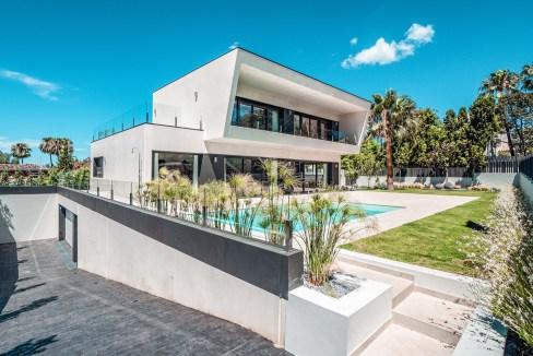 Villa sur un terrain de 841 m2 vous pourrez profiter de la Costa del Sol 6