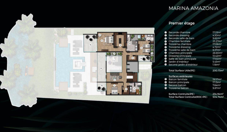 Villas et appartements