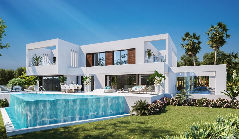 Increíble Villa con vistas al mar en Santa Mónica Villas