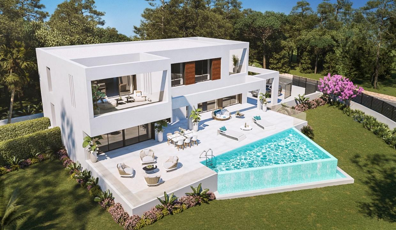 villa sur plan Espagne