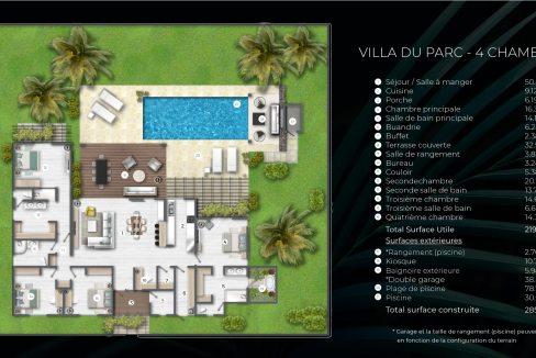 Cap Marina : Villa du Parc