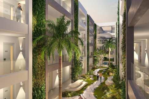 Appartement 4 chambres rez-de-chaussée Neuf de 90m2 SMART CITY SCHEME2