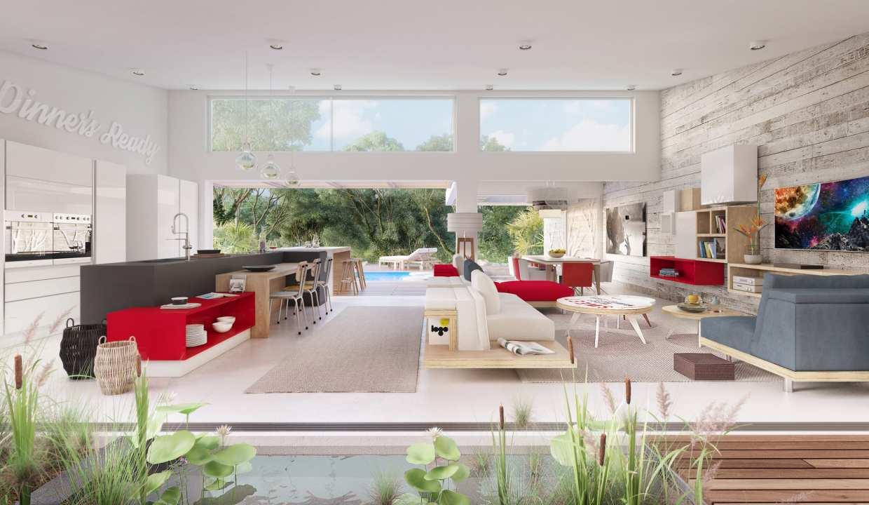 Villas construites sur des parcelles d'environ 1000m2 piscine jardin privé Tamarin, Rivière Noire, 90608, Maurice
