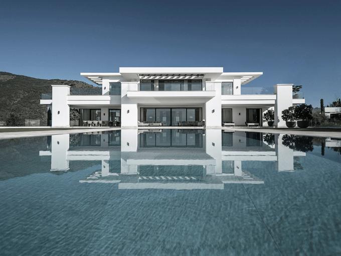 Une maison de luxe et moderne à Marbella