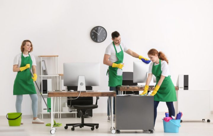 Le nettoyage de bureau, gage du bien-être des employés