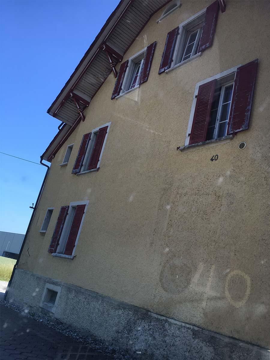 Fassade Rothrist vorher