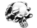 Haagenti Claw Skull Stainless Steel Unisex Ring
