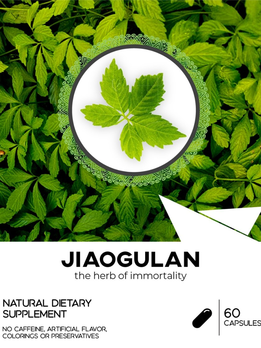 Jiaogulan Capsules - The Immortality Herb