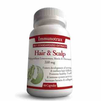 Immunotrax Hair & Scalp - Natural Supplement for Alopecia Areata