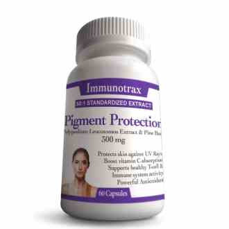 Vitiligo Pigment Protection - Natural Supplement