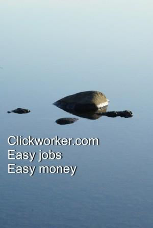 Clickworker.com, Easy jobs, Easy money