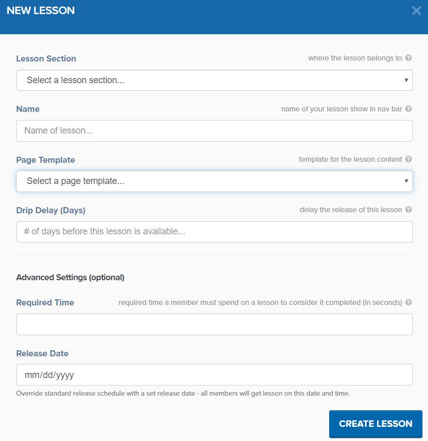 clickfunnels membership site lesson