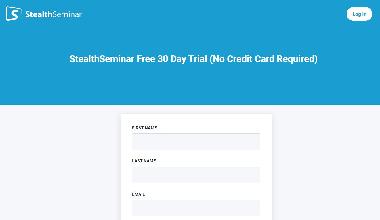 stealth seminar login credentials