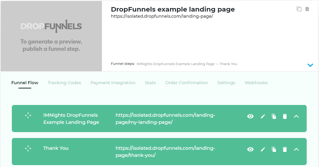 steps for sales funnels