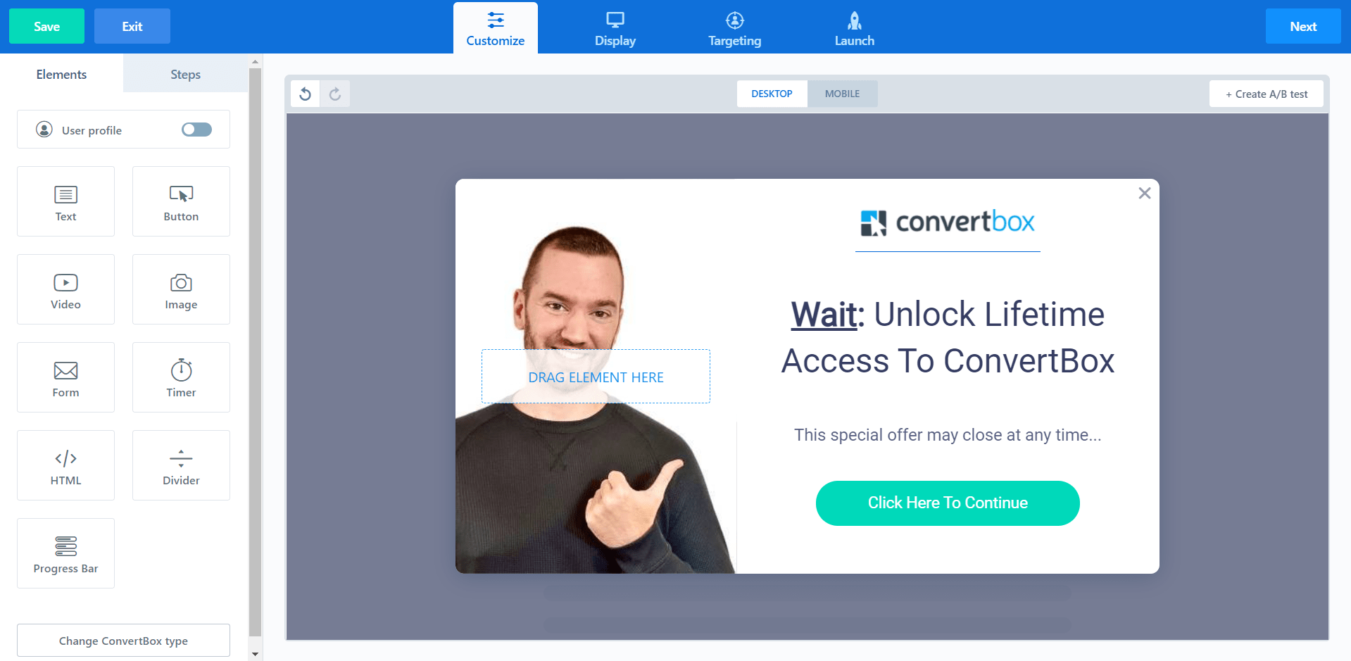 conversion rate optimized sales funnel