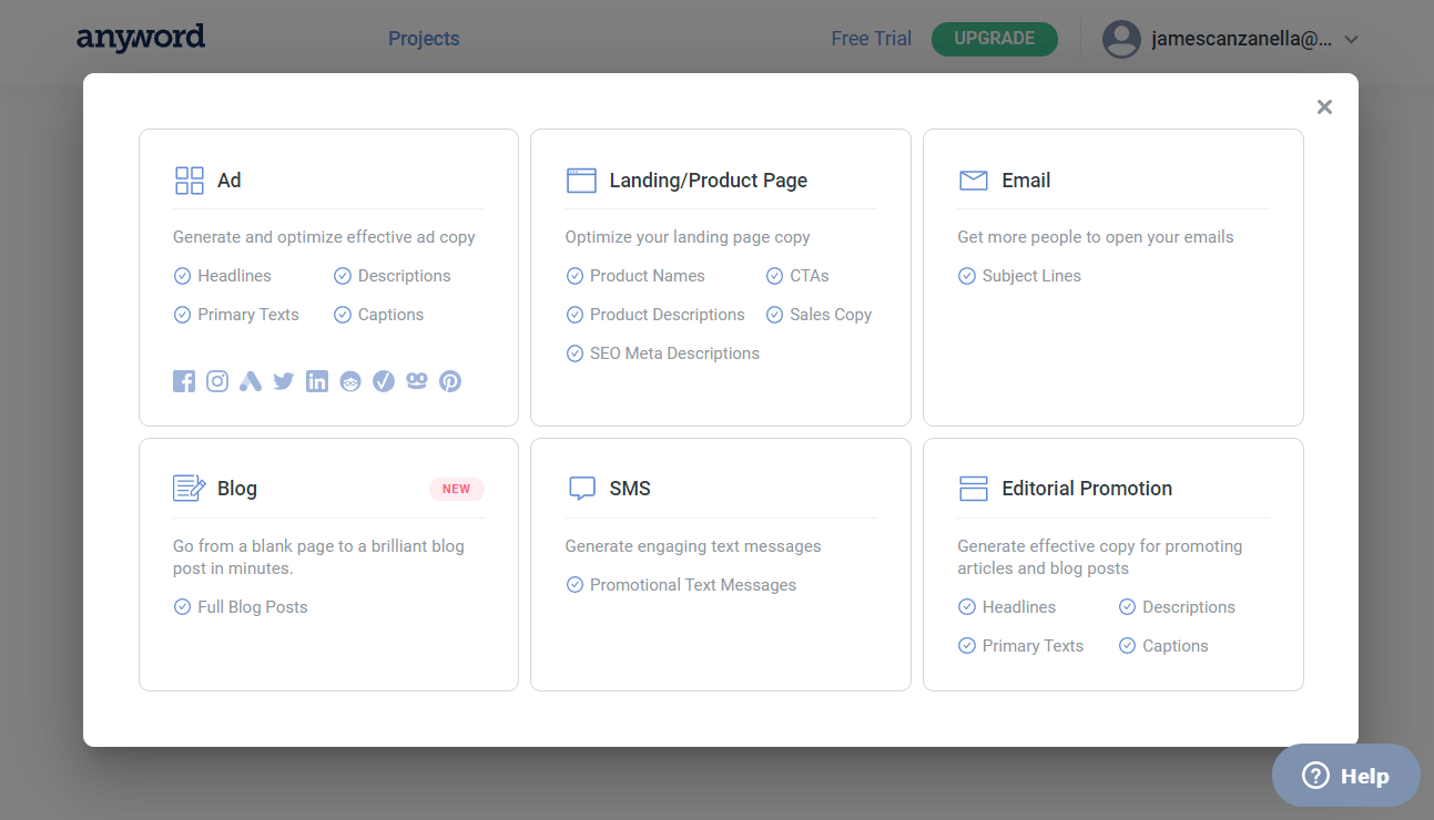content promotion dashboard