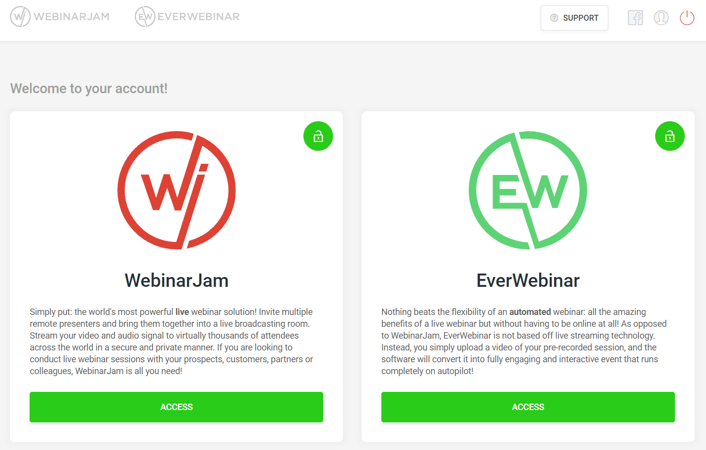 do webinars have to be live
