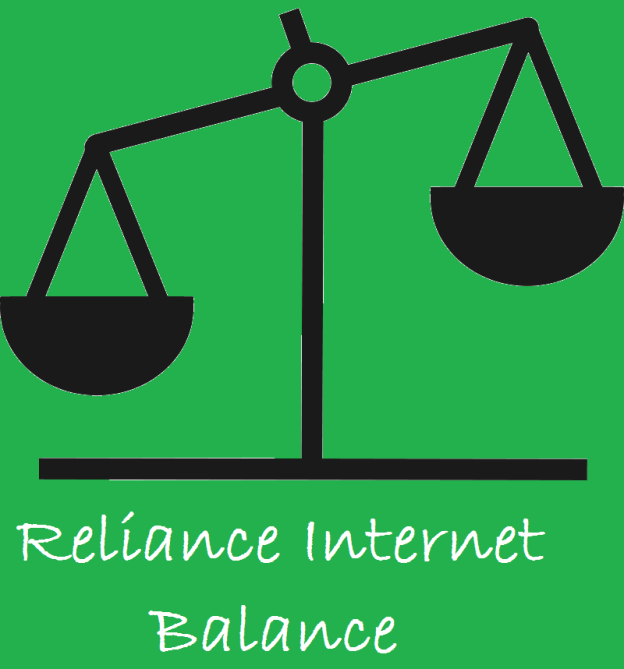 Check Mobile Internet Balance or Data pack in Reliance