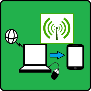 Reverse Tethering - Connect Internet from Computer to Mobile