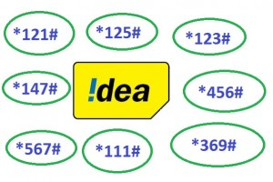 All USSD code of Idea cellular