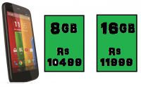 Rs 2000 Flipkart discount on Motorola Moto G.