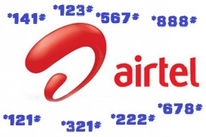 Airtel all USSD codes to check balance, offer, plan, alert