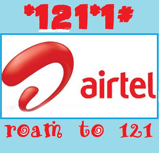 Airtel free roaming plans Activation for 1 day and monthly