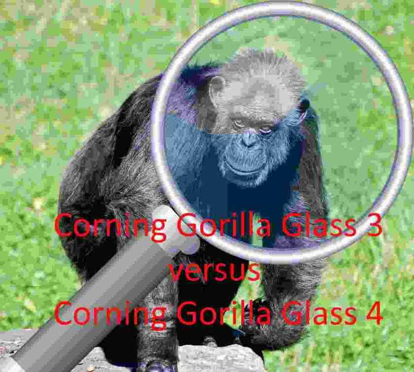 Corning Gorilla Glass 3 versus Corning Gorilla Glass 4