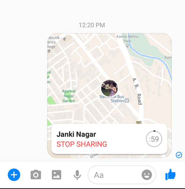 Turn Off Location – Facebook Messenger – Chat – voice call – Video call