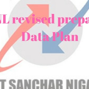BSNL revised prepaid 3G Data Plan