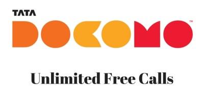 TATA DOCOMO - Unlimited free calls - Data