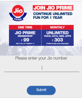 Jio Prime offer - Extended - Jio Summer Surprise plan Introduced