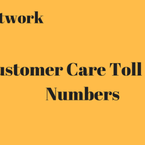 Customer care Toll free number