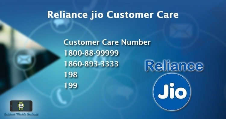 JIO Customer Care – Chat  – Call – FAQ- – Service Request – My JIO Application