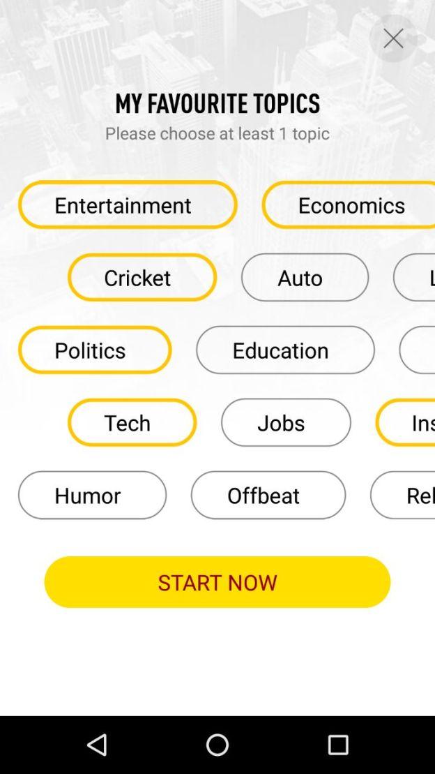 UC News Application – Handy news – News in Hand