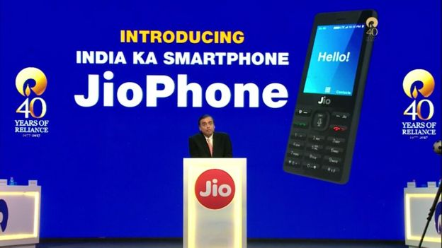 Reliance JioPhone – 4G Featured Phone – India's Intelligent Phone – Specification