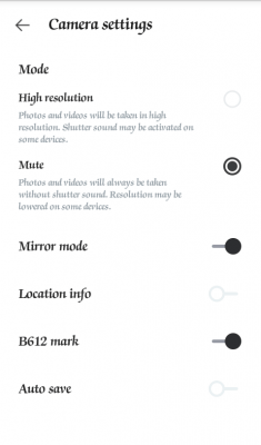 B612 Camera - Selfiegenic Camera - Features - PROs - Camera App