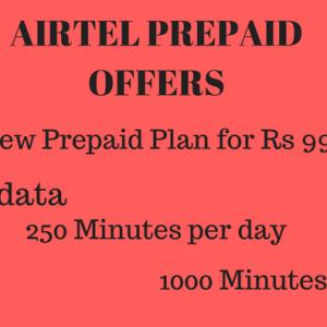 Airtel Prepaid offers