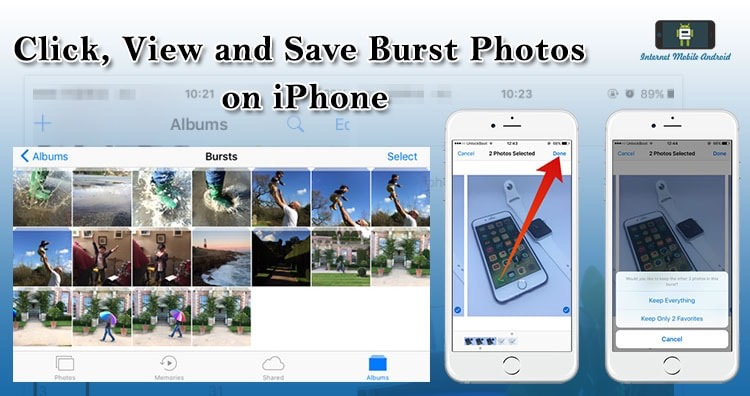 How to click, view and save burst photos on iPhone