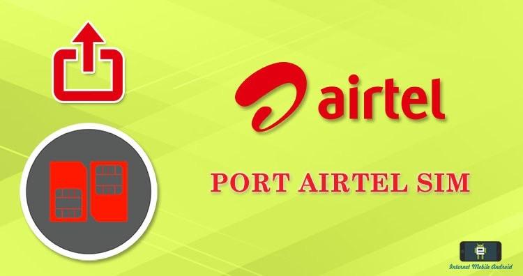 Port Airtel to Jio, Idea, Vodafone, BSNL, Aircel, Tata Docomo