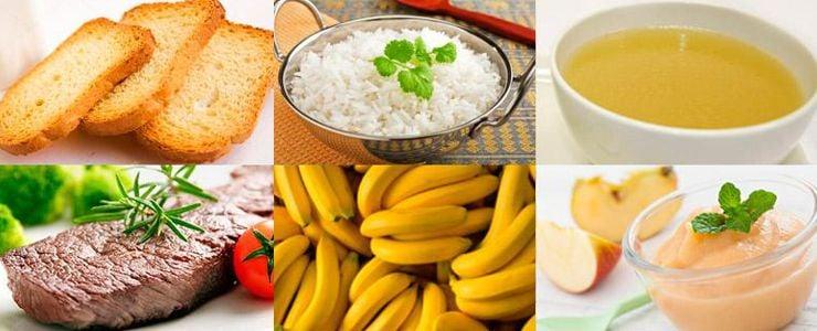 दस्त भोजन: मैं क्या खा सकता हूं?