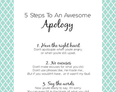 4 Step Apology Apologizing To Your Child IMom