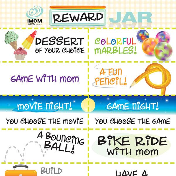 Reward Jar Coupons IMom