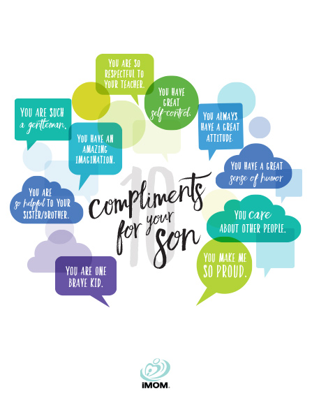 10 Compliments For Your Son IMom