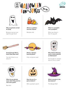 01/09/2021· halloween jokes | 23 halloween jokes for kids (with a printable) i started this year putting jokes into the lunch boxes. 13 Halloween Riddles For Kids Imom