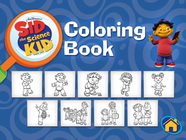 sid the science kid coloring pages # 22