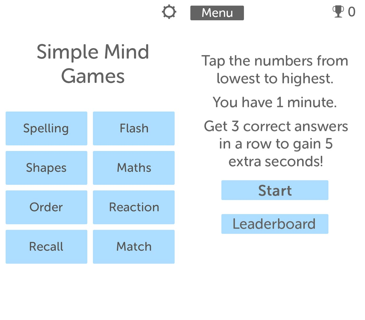 Simple Mind Games For Iphone Review