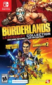 Borderlands Legendary Collection Box Art Nintendo Switch