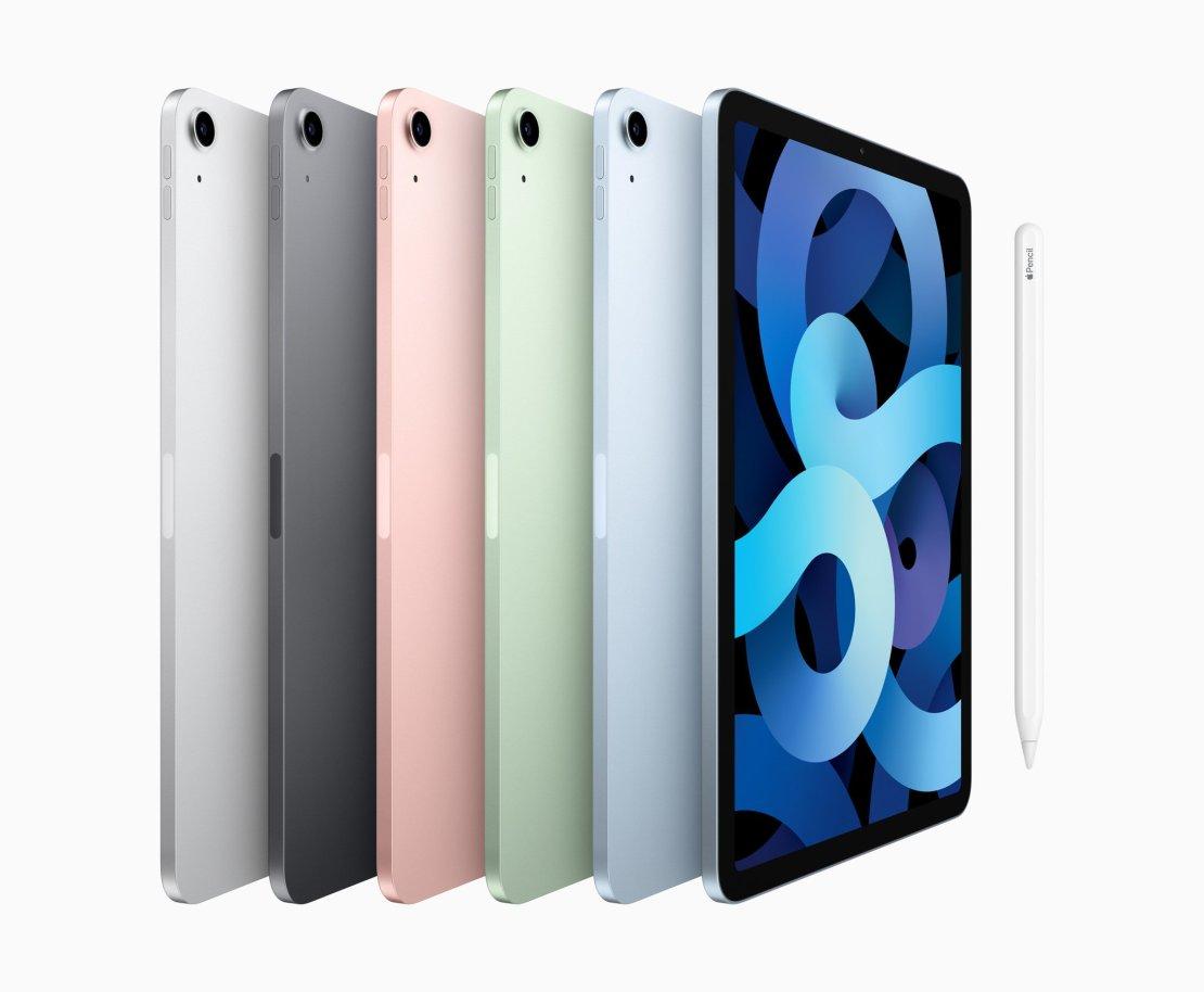 iPad Air 4 all colors
